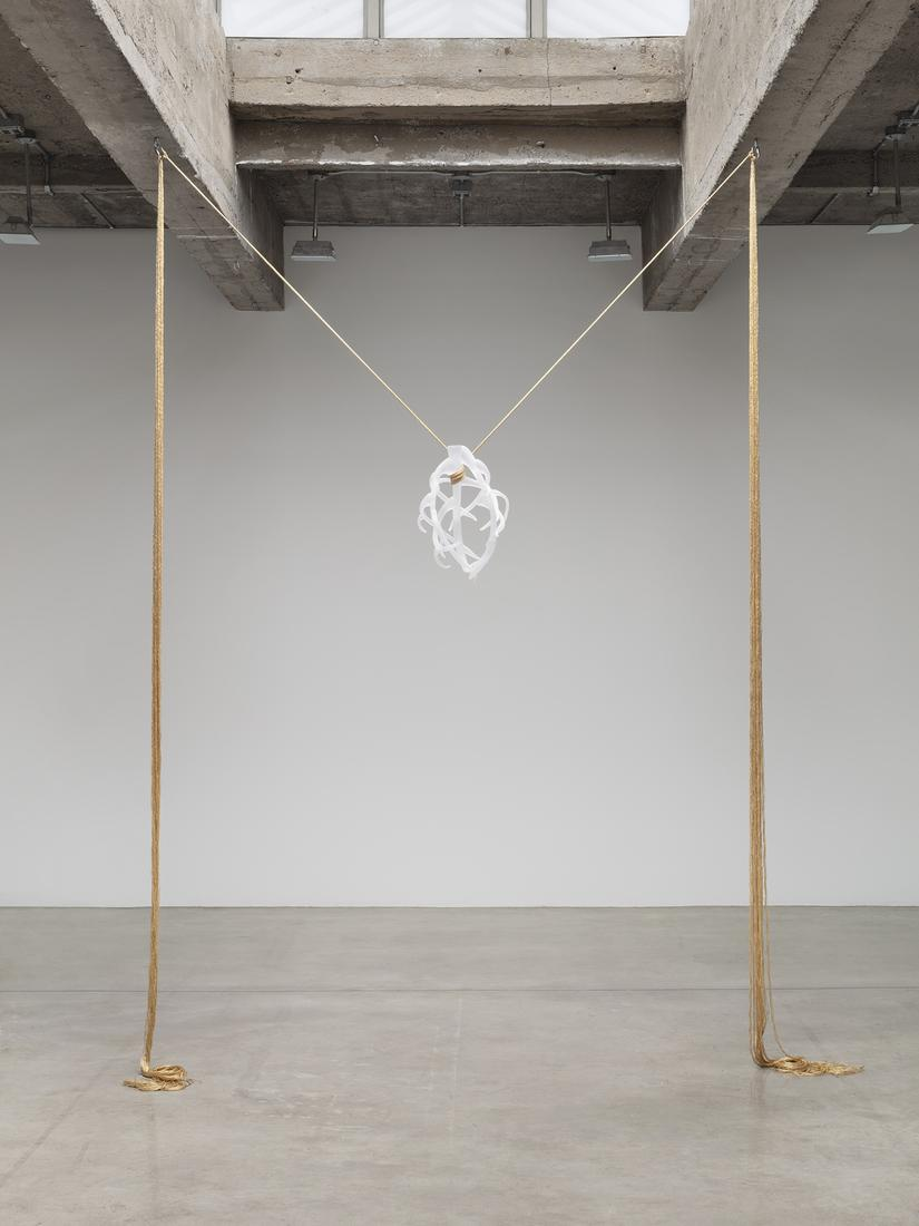 """This is an image of Kelly Akashi's sculpture """"Armo..."""