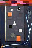 Thomas SCHEIBITZ GP 53 2003 Vinyl, gouache, spray...