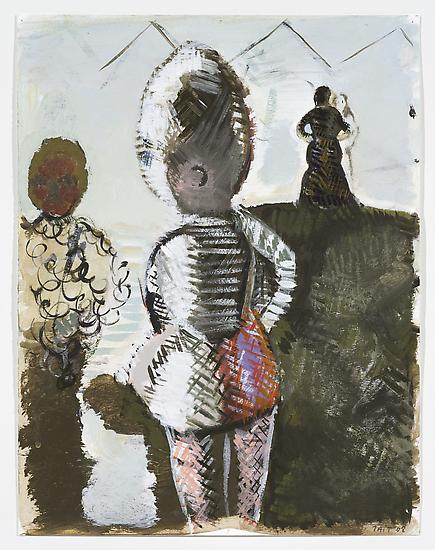 Neal TAIT Pardot 2008 acrylic and tempera on paper...