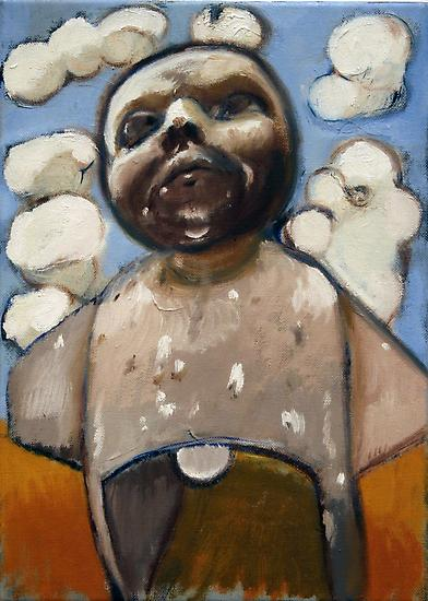 Neal TAIT Drive Thru Boy 2008 oil on canvas 10 x 1...