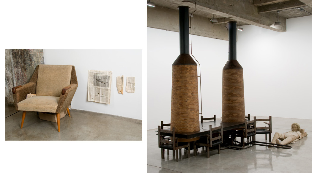 Mark MANDERS Room with Chairs and Factory 2003-200...