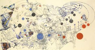 Sarah SZE Day 2003 offset lithograph and silkscree...