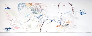 Sarah SZE Tailspin 2009 graphite, gouache, and ink...