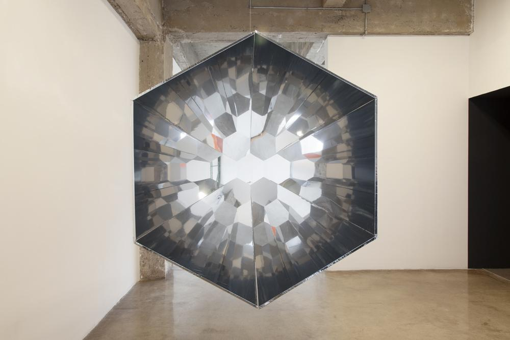 Olafur ELIASSON Your Compound Eye 1996 foil, metal...