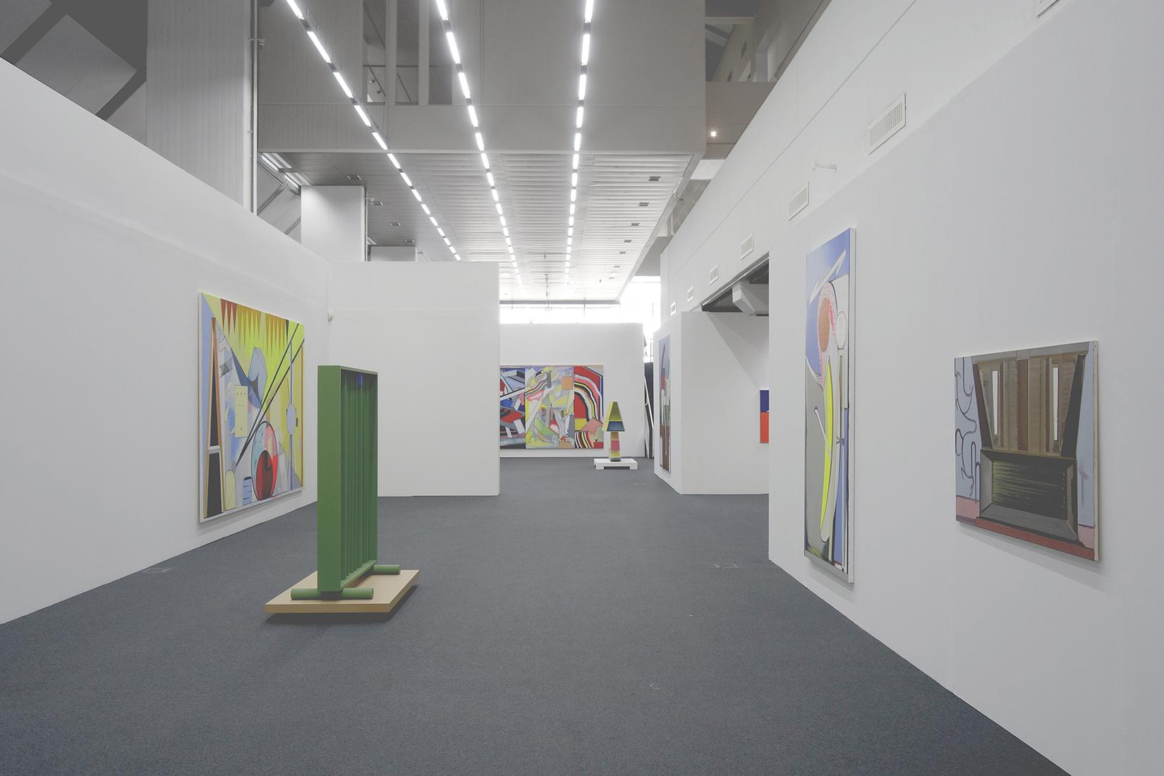 May 19 - August 12, 2018 - Wilhelmhack Museum,  Ludwigshafen, Germany - Thomas Scheibitz - Masterplan \ kino -  - Exhibitions