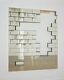 Michael Wilkinson Wall 2005 Etched mirror, wood, e...
