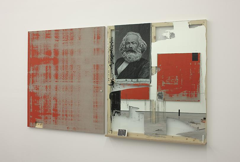 Michael Wilkinson Diptych 2013 Part 1: acrylic on...