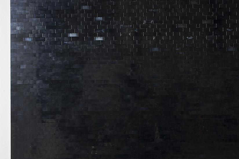 Michael Wilkinson Black Wall 12 (detail) 2013...