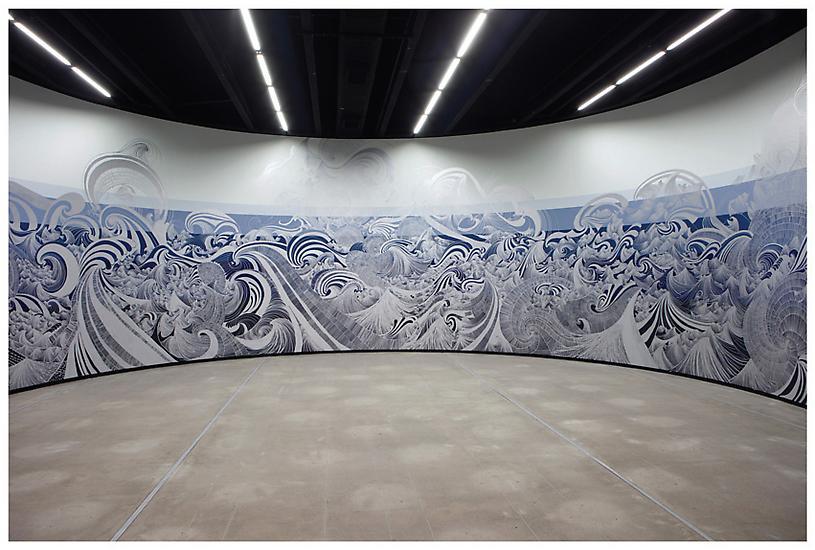 2010 - Instituto Tomie Ohtake, São Paulo - Sandra Cinto: Imitação da Água (Imitation of Water) - Exhibitions