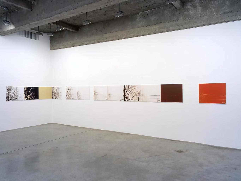 Installation view Tanya Bonakdar Gallery, 2002...