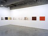 Installation view Tanya Bonakdar Gallery, 2002...