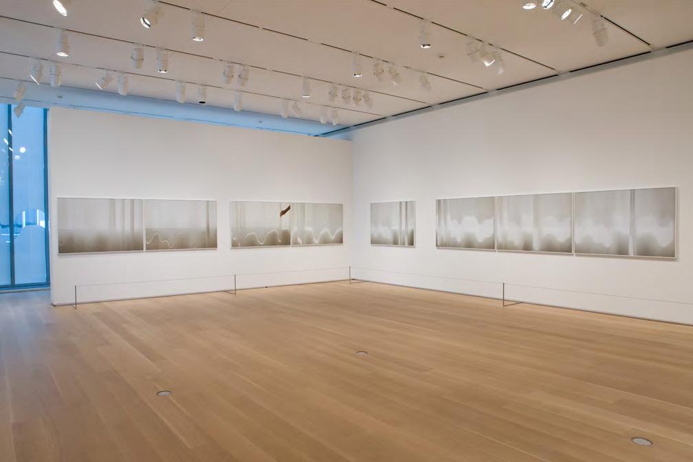 Installation view Uta Barth, The Art Institute of...