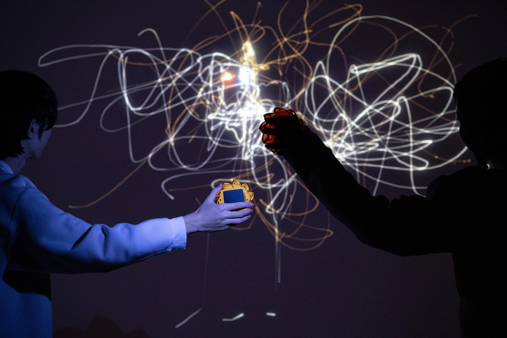 This is an installation image of Olafur Eliasson's...
