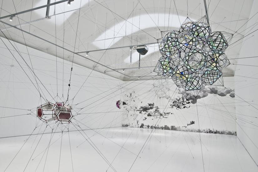 Tomás Saraceno: Many suns and worlds - Exhibitions