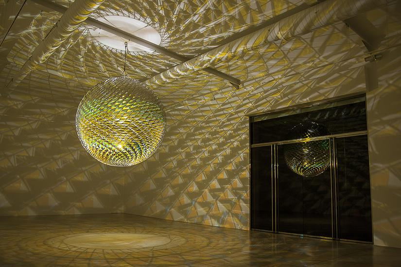 21 January - 29 April 2017 - - OLAFUR ELIASSON: SPHERICAL ...