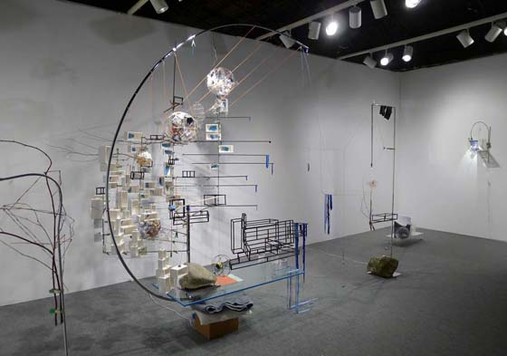7 - 11 March 2012 - ADAA: The Art Show 2012 - Sarah Sze - Exhibitions