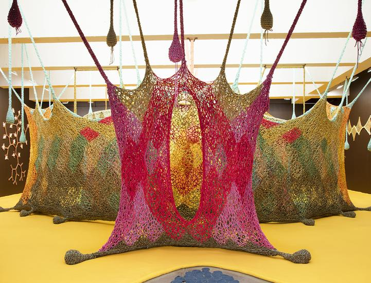 29 October - 16 December 2016 -  - Ernesto Neto: The Serpent's Energy Gave Birth To Humanity - Exhibitions