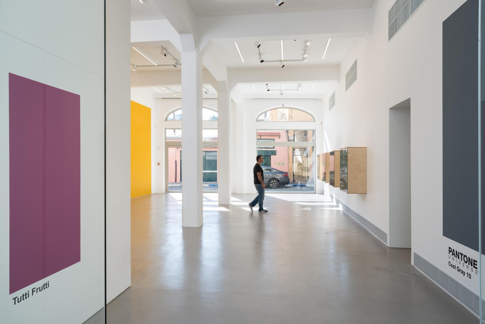 Haim Steinbach, Installation view, zerubbabel, Mag...