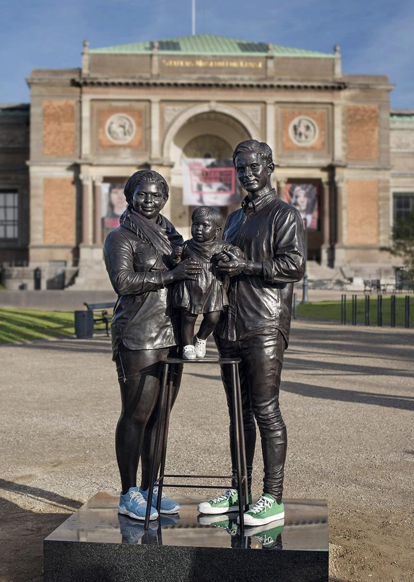 Gillian WEARING A Real Danish Family 2017 Bronze,...