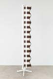 Nicole Wermers Vertical Awning (stripes brown/crea...