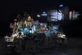 Sarah SZE Timekeeper 2016 Mixed media, mirrors, wo...