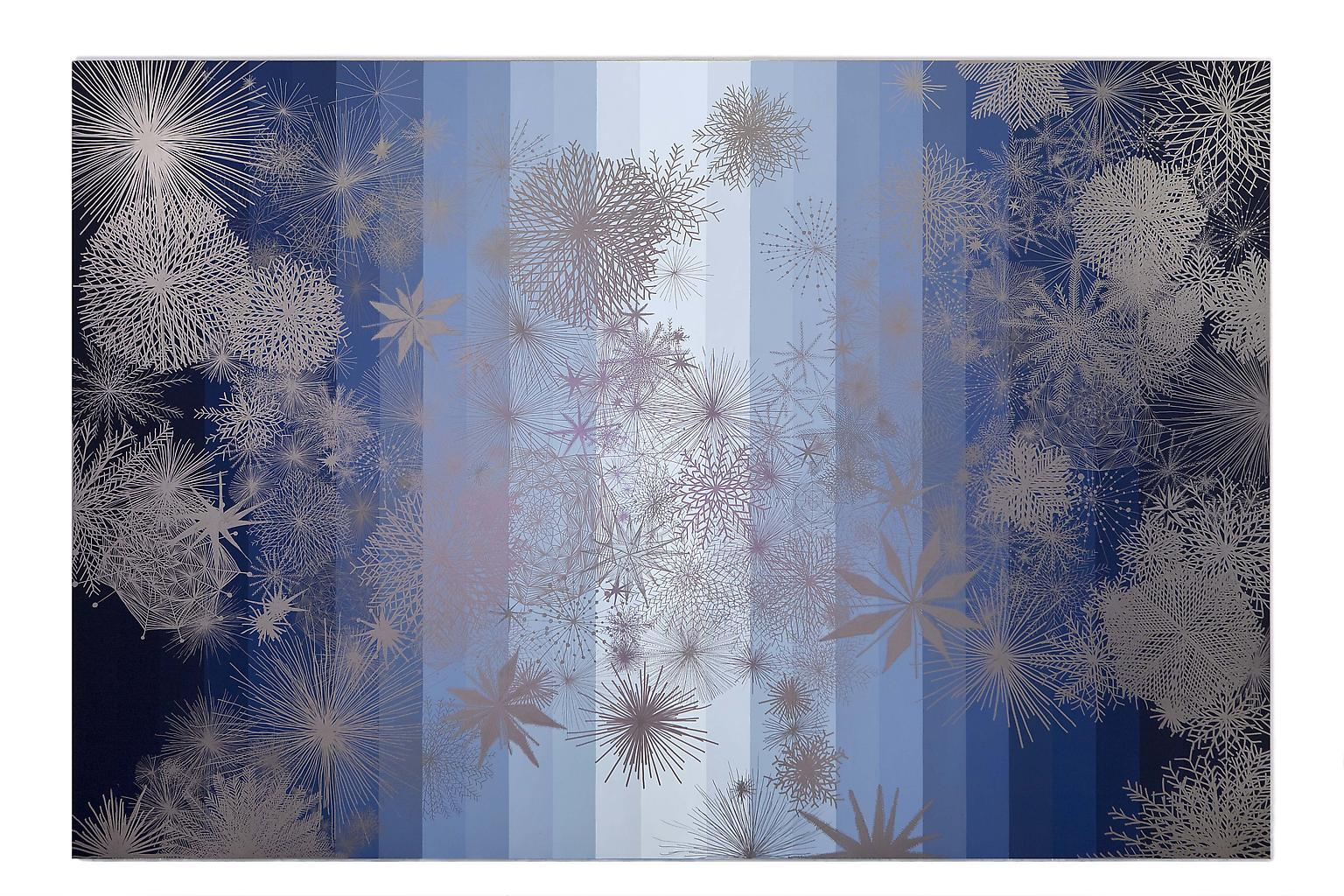 SANDRA CINTO Untitled (stars) 2008-2009 permanent...