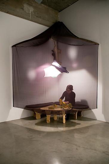 Ernesto NETO Talking Parts (Wood Corner) 2008 OSB,...